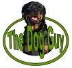 Green dog training logo for Whatcom County, WA