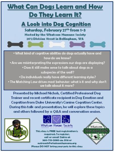 Dog Cognition Class (2)